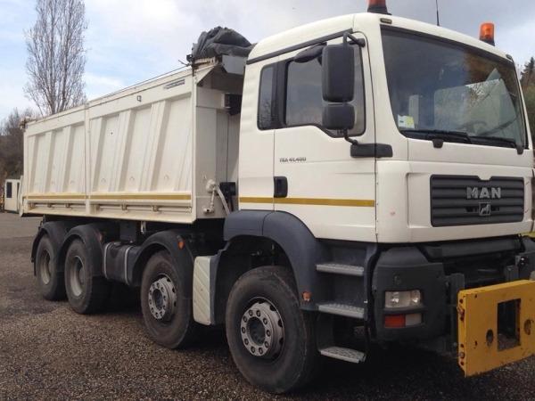 Noleggio camion con cassone ribaltabile - Impresa Giammaria