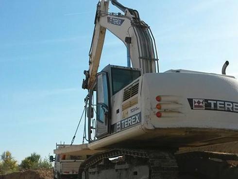 Noleggio escavatore Terex - Impresa Giammaria