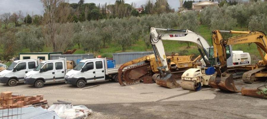 Noleggio veicoli da cantiere - Impresa Giammaria