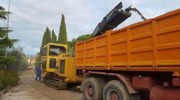Noleggio Vermeer T558 e Autocarro Mercedes - Impresa Giammaria
